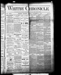 Whitby Chronicle, 25 Nov 1887
