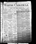 Whitby Chronicle, 9 Dec 1887