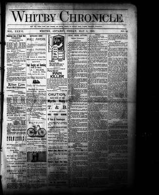 Whitby Chronicle, 6 May 1892