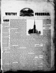 Whitby Freeman (Whitby, ON: J. S. Sprowle, 1850), 9 Jan 1850