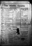Whitby Gazette, 12 Oct 1911