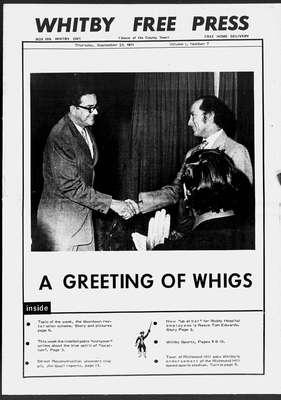Whitby Free Press, 23 Sep 1971