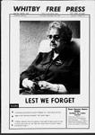 Whitby Free Press, 11 Nov 1971