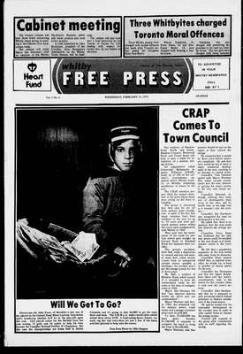 Whitby Free Press, 12 Feb 1975