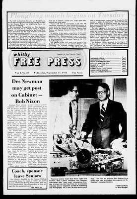 Whitby Free Press, 17 Sep 1975