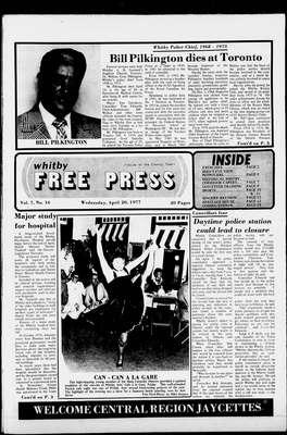 Whitby Free Press, 20 Apr 1977