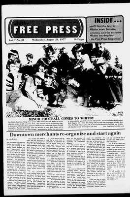 Whitby Free Press, 24 Aug 1977