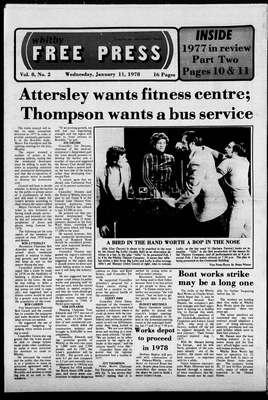 Whitby Free Press, 11 Jan 1978