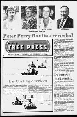 Whitby Free Press, 15 Jul 1981
