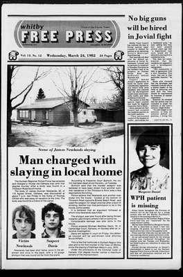 Whitby Free Press, 24 Mar 1982
