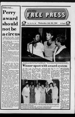 Whitby Free Press, 28 Jul 1982