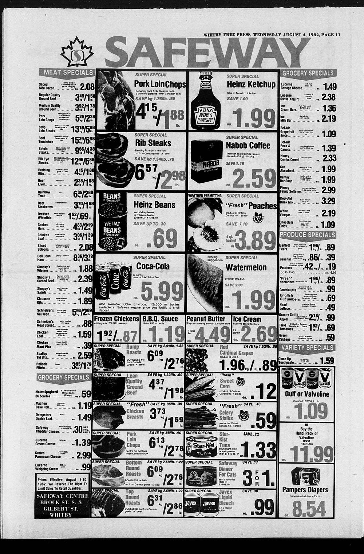Whitby Free Press, 4 Aug 1982