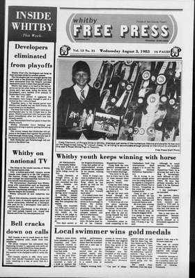 Whitby Free Press, 3 Aug 1983