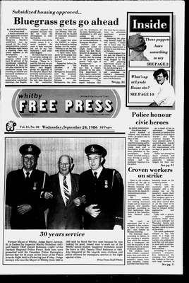 Whitby Free Press, 24 Sep 1986
