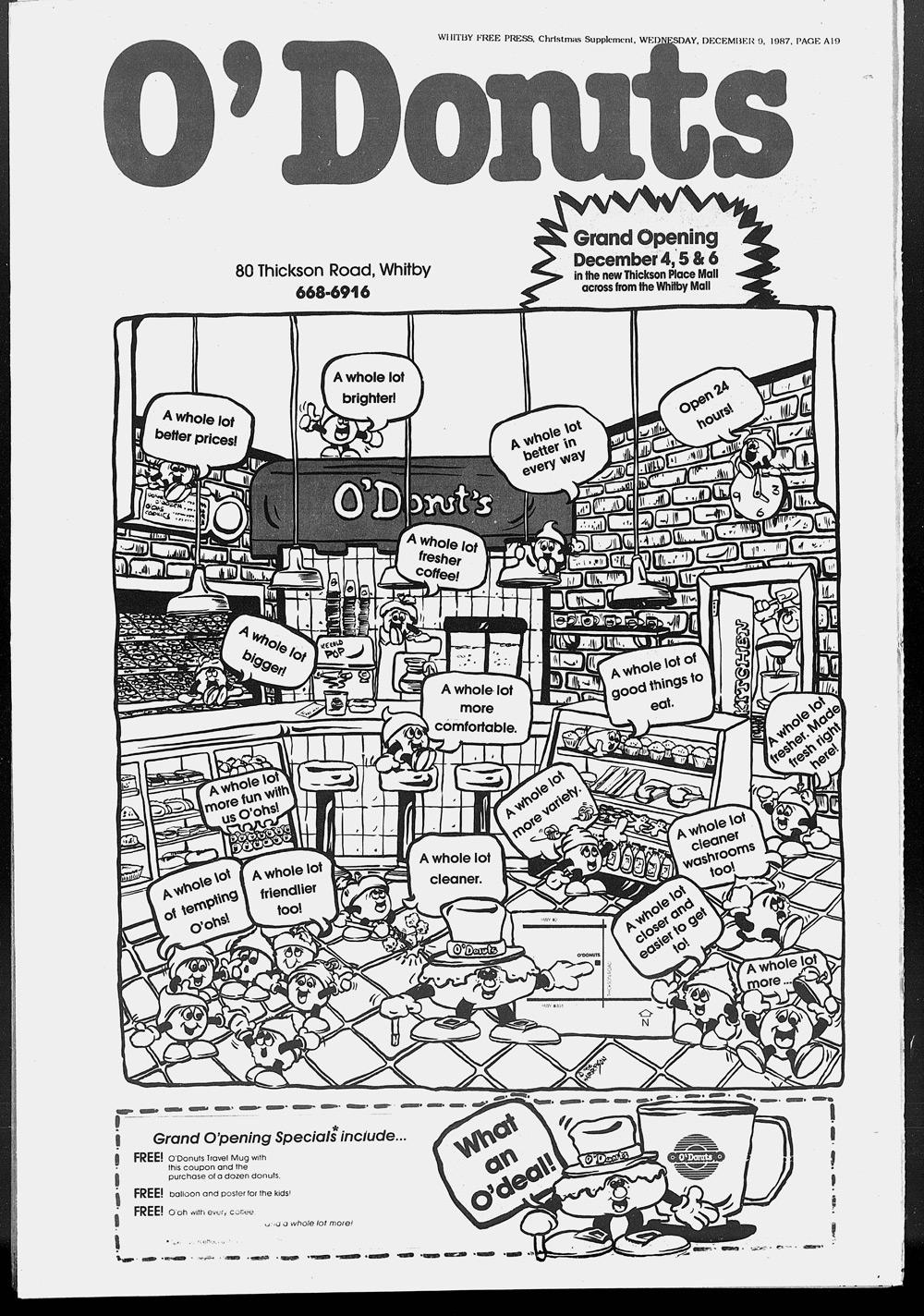 Whitby Free Press, 9 Dec 1987