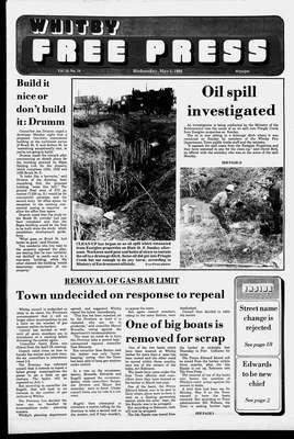 Whitby Free Press, 4 May 1988