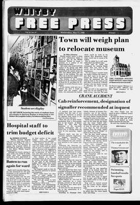 Whitby Free Press, 11 May 1988