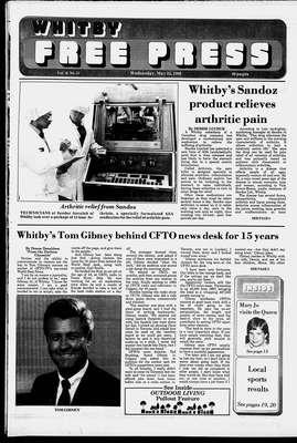 Whitby Free Press, 25 May 1988