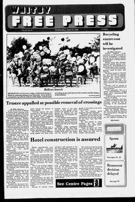 Whitby Free Press, 22 Jun 1988