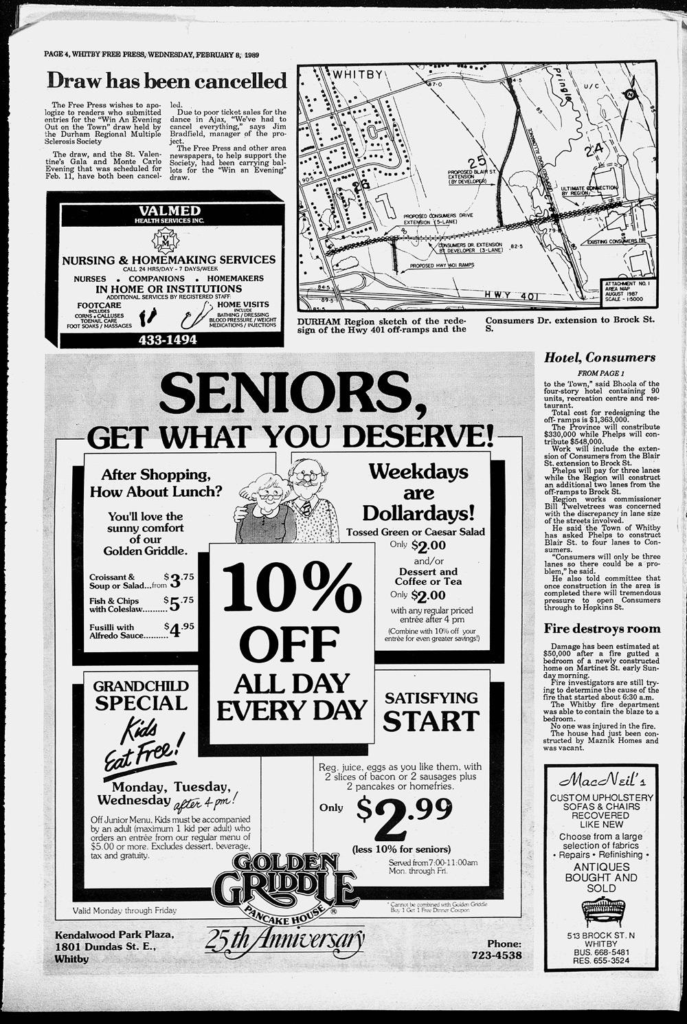Whitby Free Press, 8 Feb 1989