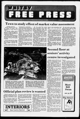 Whitby Free Press, 15 Feb 1989