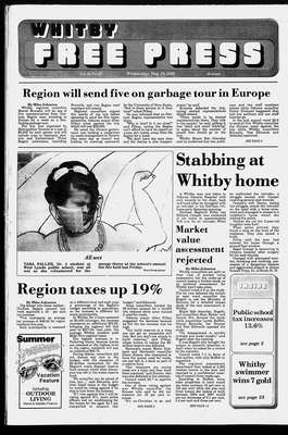 Whitby Free Press, 10 May 1989