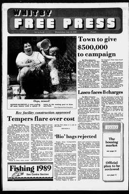 Whitby Free Press, 12 Jul 1989