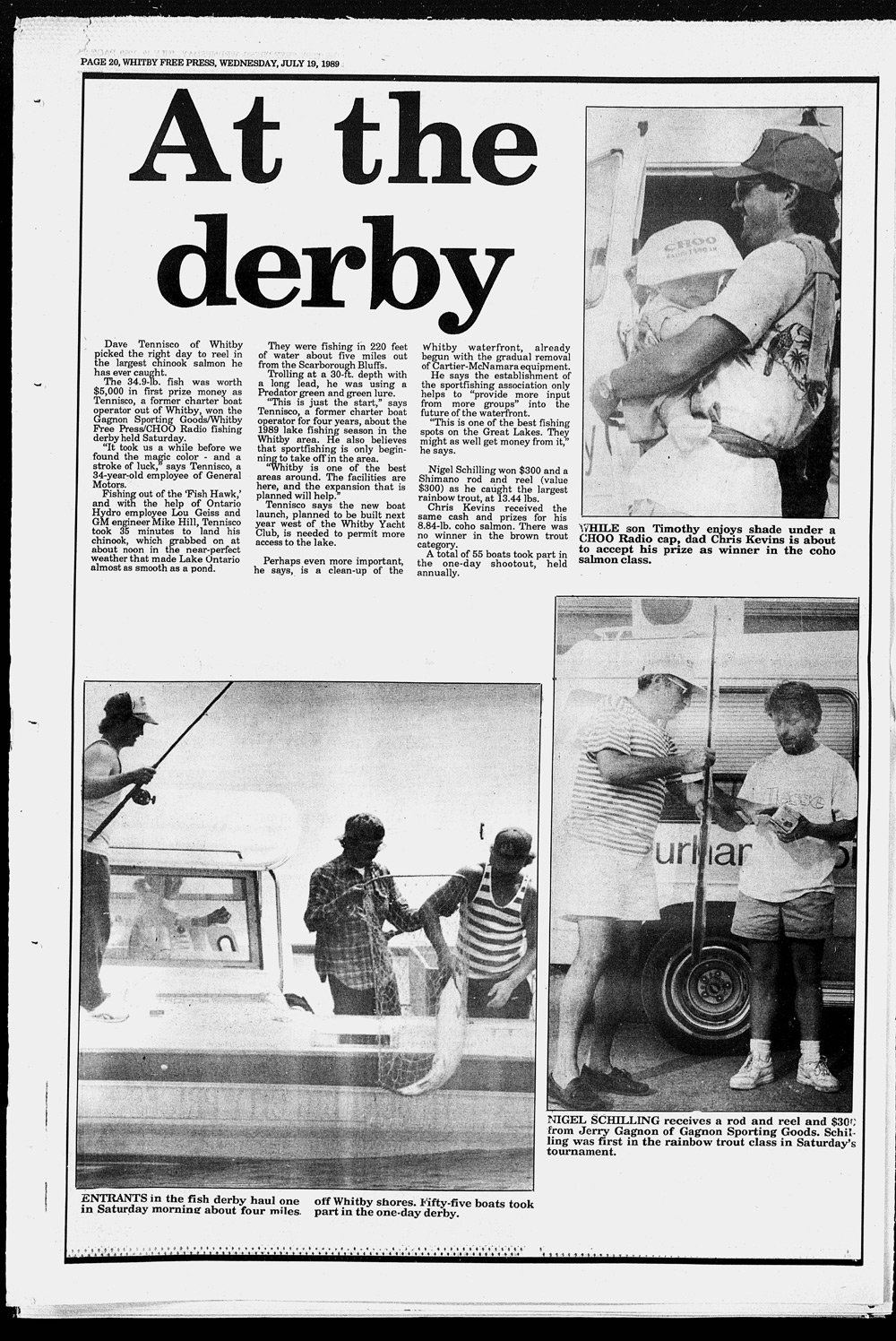 Whitby Free Press, 19 Jul 1989