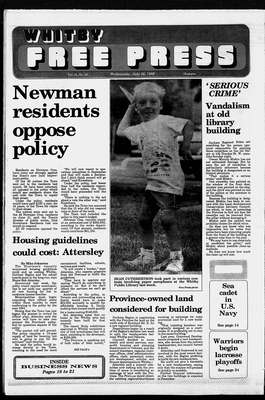 Whitby Free Press, 26 Jul 1989
