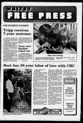 Whitby Free Press, 2 Aug 1989