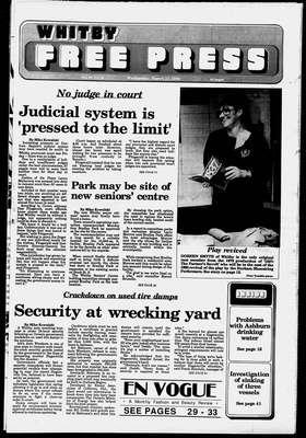 Whitby Free Press, 21 Mar 1990