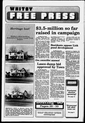 Whitby Free Press, 11 Apr 1990