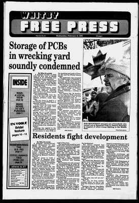 Whitby Free Press, 6 Feb 1991