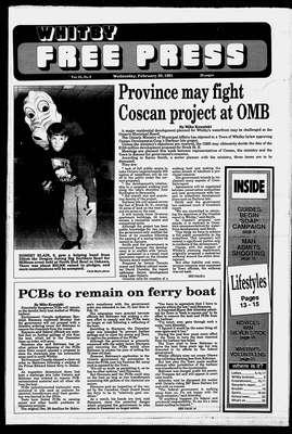 Whitby Free Press, 20 Feb 1991