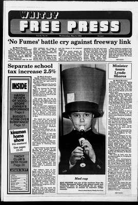 Whitby Free Press, 6 May 1992