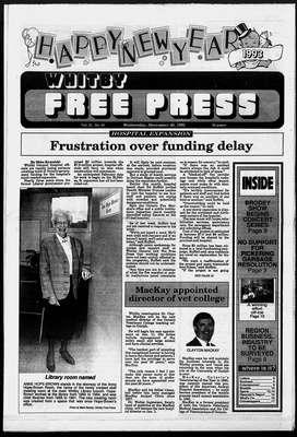 Whitby Free Press, 30 Dec 1992