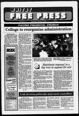 Whitby Free Press, 13 Jan 1993