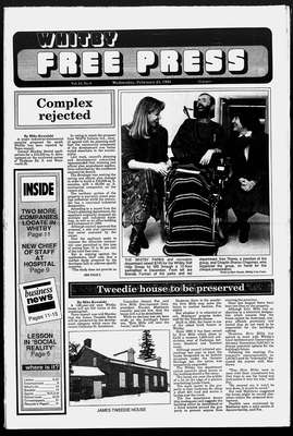 Whitby Free Press, 24 Feb 1993