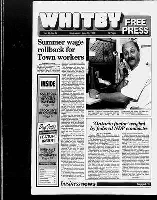 Whitby Free Press, 30 Jun 1993