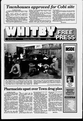 Whitby Free Press, 3 Nov 1993