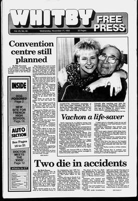 Whitby Free Press, 17 Nov 1993