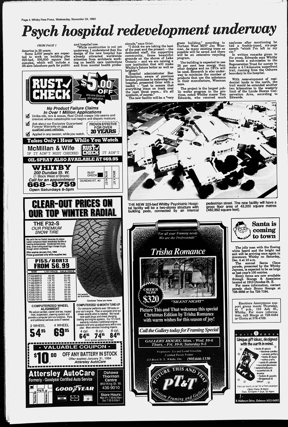 Whitby Free Press, 24 Nov 1993