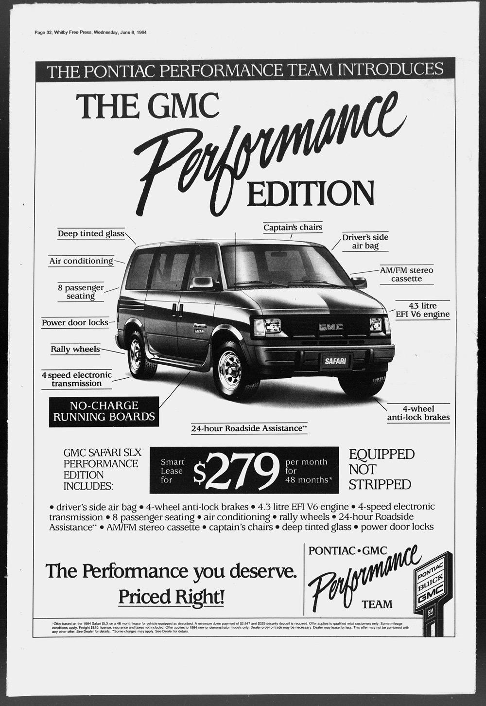 Whitby Free Press, 8 Jun 1994