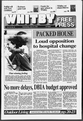 Whitby Free Press, 15 Jun 1994