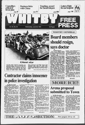 Whitby Free Press, 22 Jun 1994