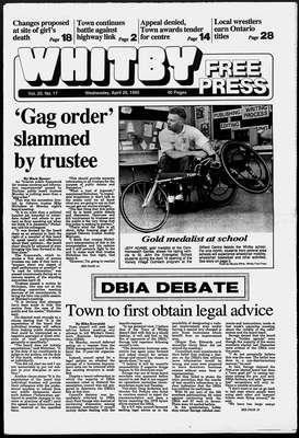 Whitby Free Press, 26 Apr 1995