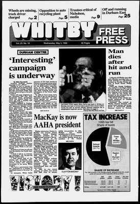 Whitby Free Press, 3 May 1995