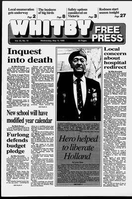 Whitby Free Press, 10 May 1995