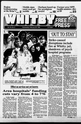 Whitby Free Press, 28 Feb 1996