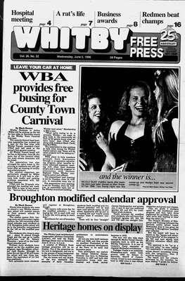 Whitby Free Press, 5 Jun 1996